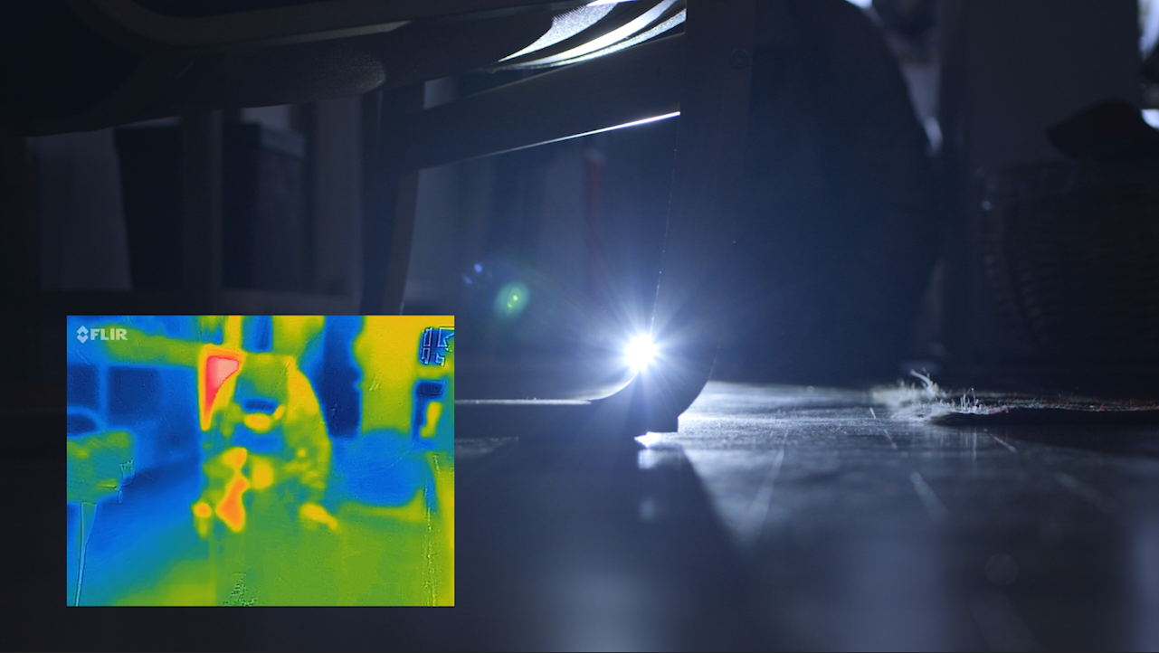 thermal imagery video production
